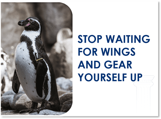 stop waiting for wings